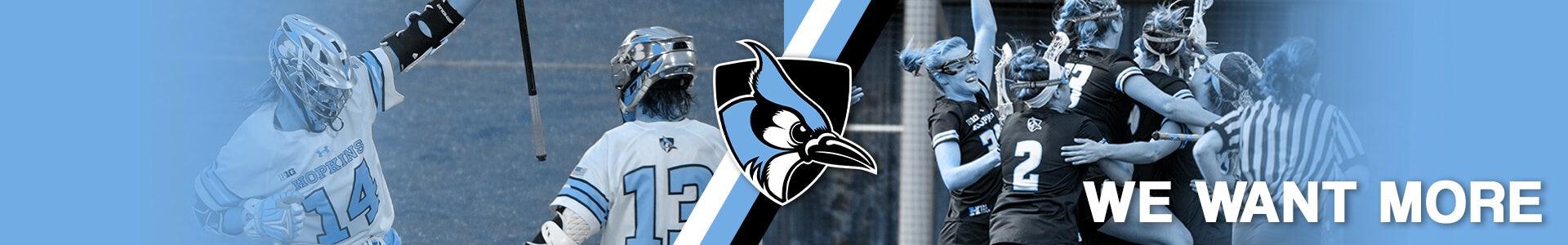 new style e6fcd dbae3 Johns Hopkins Lacrosse Apparel | Lacrosse Unlimited