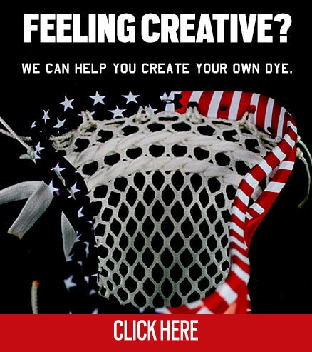 Create your own custom lacrosse head