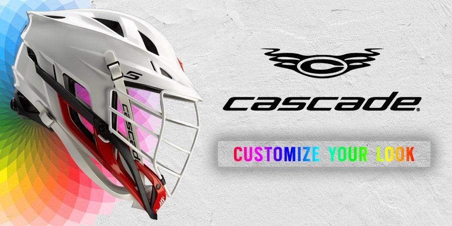 MOBILE - Custom Cascade Lacrosse Helmet