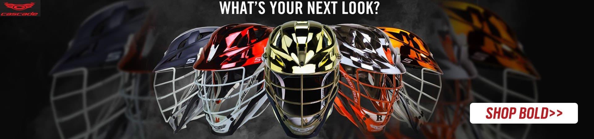 Cascade S Lacrosse Helmet - Customizable