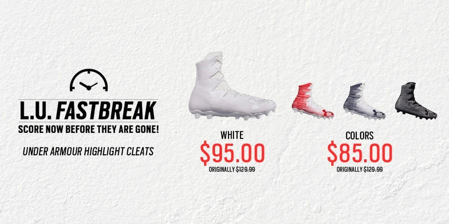 Up to 35% Off UA Highlight Lacrosse Cleats