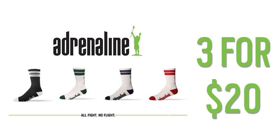 Socks 3 for $20 - Limited Time Only
