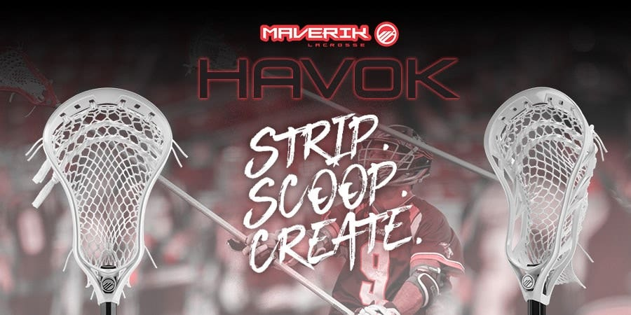 Mobile Banner - Maverik Havok Lacrosse Head