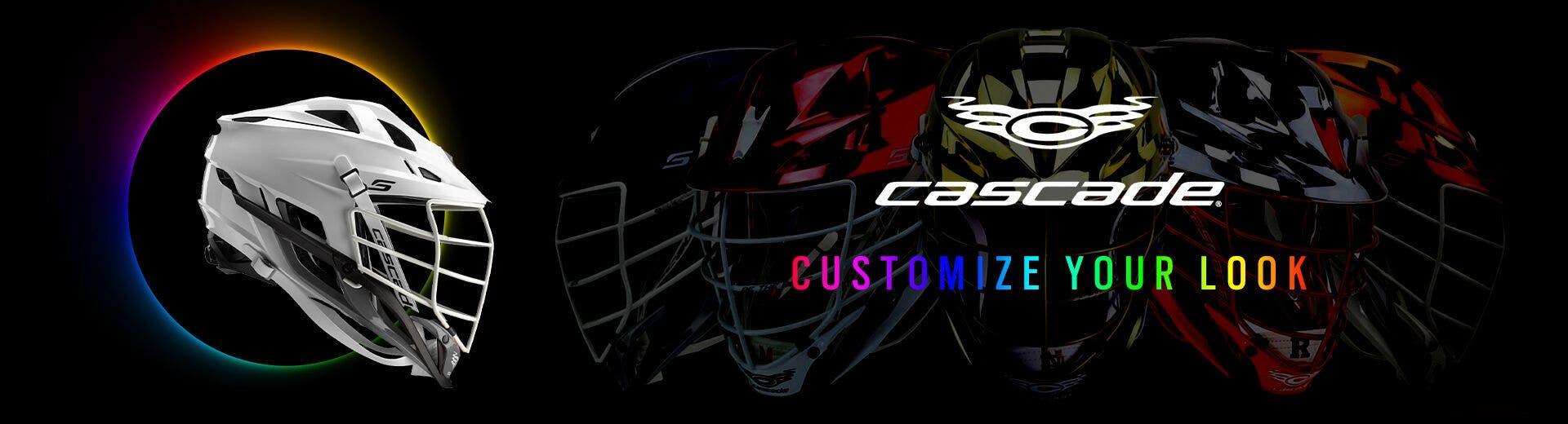 Custom Cascade Lacrosse Helmet - DESKTOP