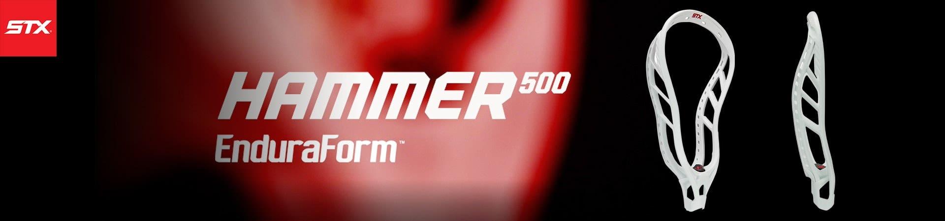 STX Hammer 500 Enduraform Lacrosse Head