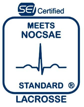 SEI Certified Meets NOCSAE Standard