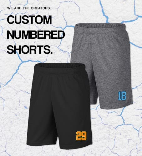 Lacrosse Unlimited Custom Lacrosse Shorts
