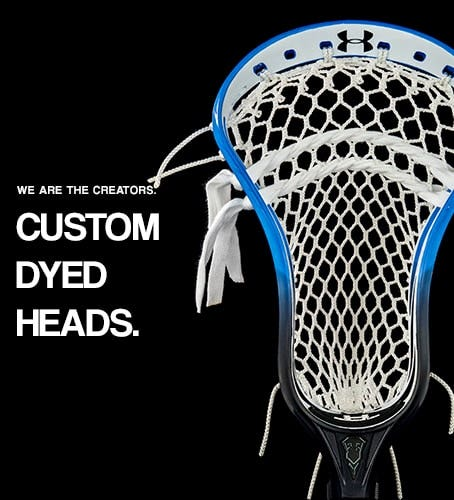 Lacrosse Unlimited Custom Dyed Heads