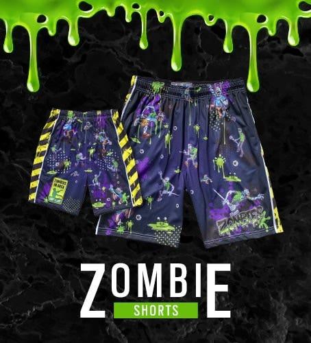 Shop Our Exclusive Zombie Lacrosse Shorts