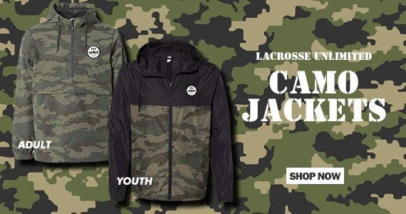 Lacrosse Unlimited Camo Jackets