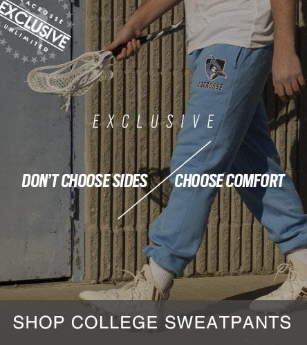 Exclusive Collegiate Lacrosse Sweatpants