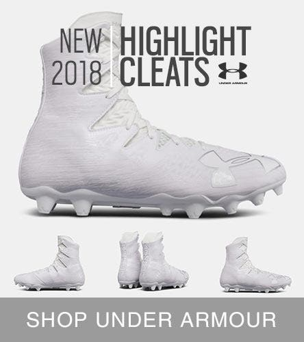 Under Armour Lacrosse Cleats and Lacrosse Turfs