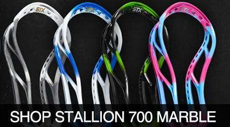 Shop STX Stallion 700 Limited Edition Marble Lacrosse Heads