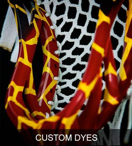 Lacrosse Unlimited Custom Dyed Lacrosse Heads