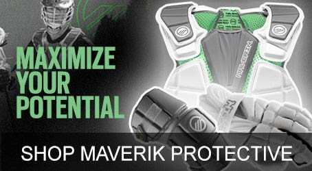 Maverik Max Lacrosse Gloves and Lacrosse Pads