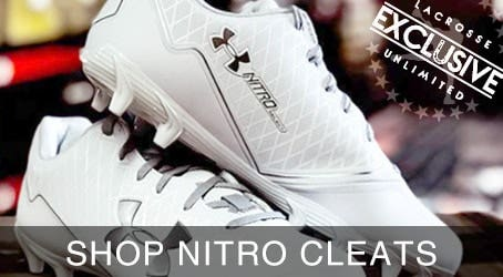 Under Armour Nitro Lacrosse Cleats Exclusively at Lacrosse Unlimited
