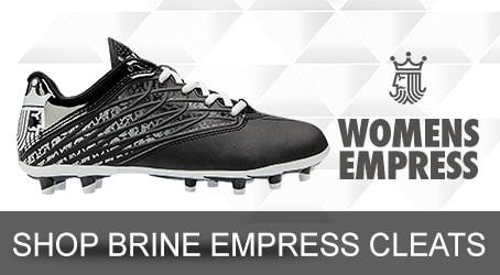 Brine Womens Lacrosse Cleats and Lacrosse Turfs