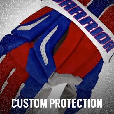 Custom Lacrosse Helmets, Gloves, and Pads