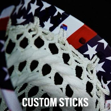 Custom Lacrosse Sticks