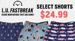 $24.99 Select Shorts