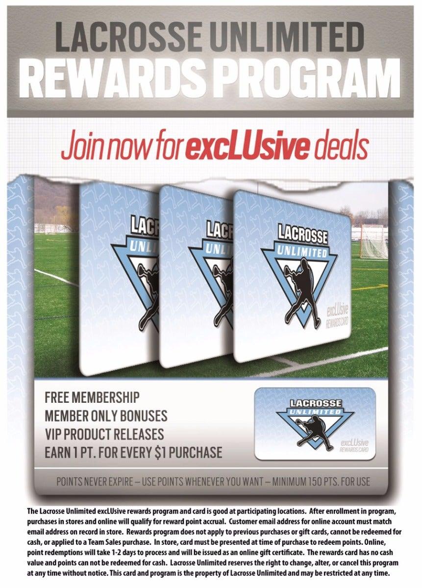 Lacrosse Unlimited Rewards Details
