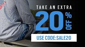 EXTRA 20% SALE ITEMS