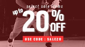 20% Off Select Sale Items